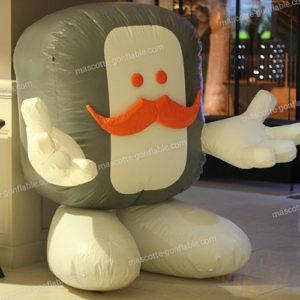Sculpture gonflable sur mesure. Structure gonflable publicitaire. inflatable sculpture. advertising inflatable structure.